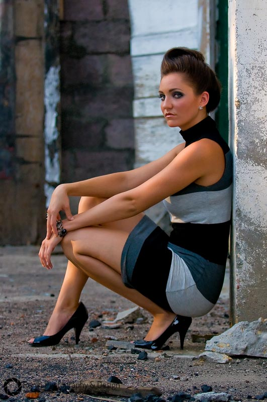 Ashley:  Beauty in the ruins.